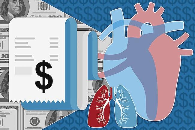 Si no demuestras que tienes dinero, no tendrás un nuevo corazón