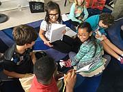 Diversidad. Los estudiantes de esta escuela representan a una variedad de nacionalidades y culturas, el 57 por ciento de ellos se considera negro, latino o asiático.  CREDITO: Cortesía Creative Minds International