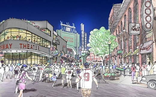 La compañía de los Red Sox planea contruir un nuevo teatro