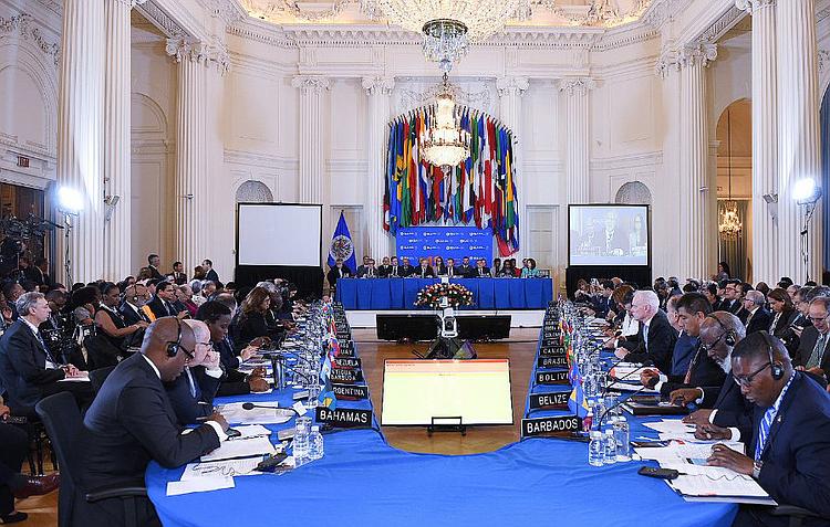 OEA convoca sesión extraordinaria para este jueves por crisis en Nicaragua