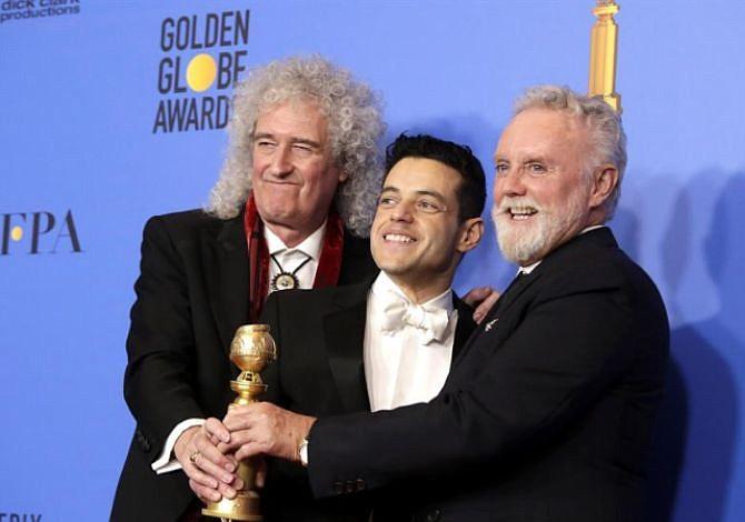 """""""Bohemian Rhapsody"""" se alza con el Globo de Oro a Mejor Película de Drama"""