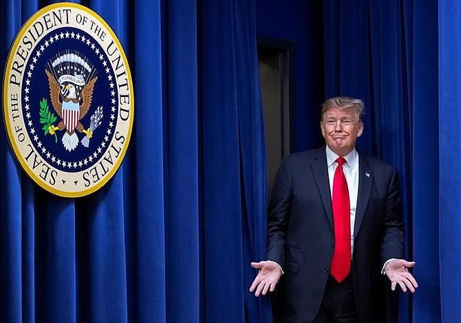 Trump visitará este jueves frontera sur con México