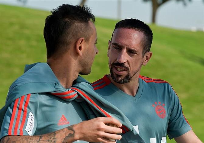 El rabioso insulto de Ribéry por un bistec bañado en oro