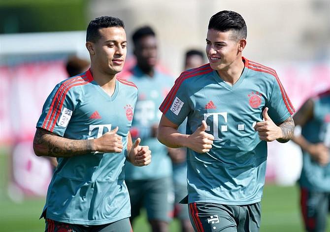 Directivos del Bayern Múnich pondrán a prueba a James Rodríguez en 2019