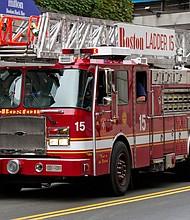 Camión de bomberos de Boston.