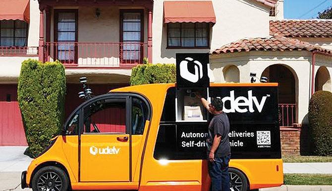 Para entregas a domicilio: Walmart probará  vehículos autónomos