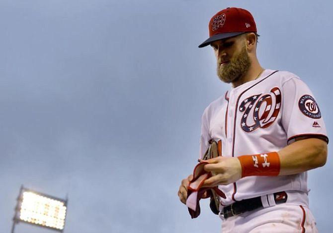 Washington sigue siendo atractivo para Bryce Harper