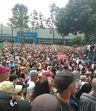 VENEZUELA. Cabildo abierto para denunciar a Maduro