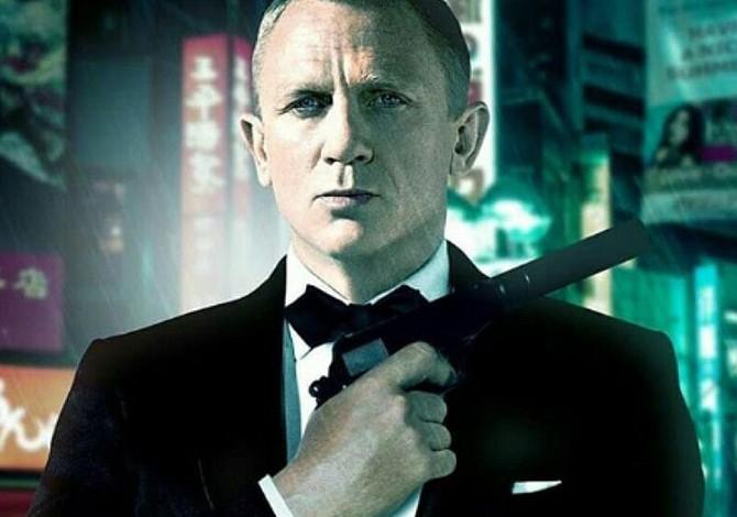 Daniel Craig listo para interpretar al agente James Bond