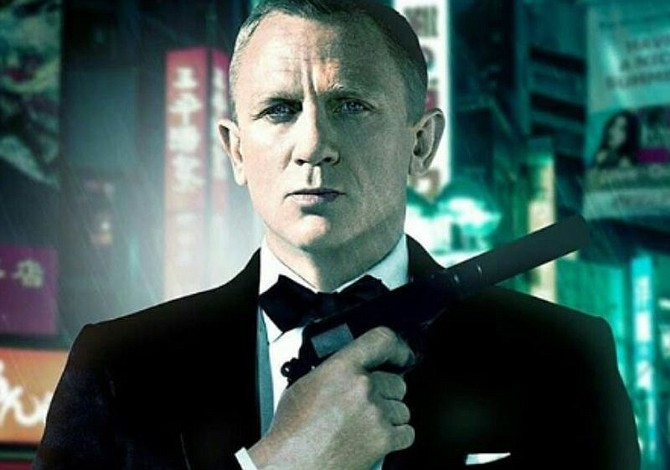 Daniel Craig listo para interpretar al agente James Bond