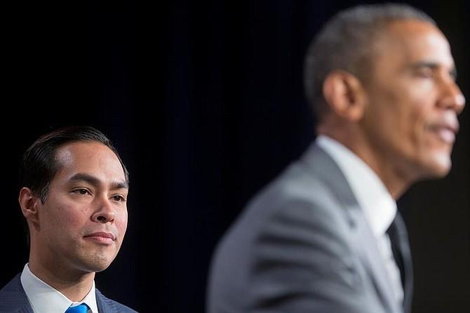 """PRESIDENCIA. """"Tenemos que asegurarnos de que las oportunidades que he tenido estén disponibles para todos los estadounidenses"""", dijo."""