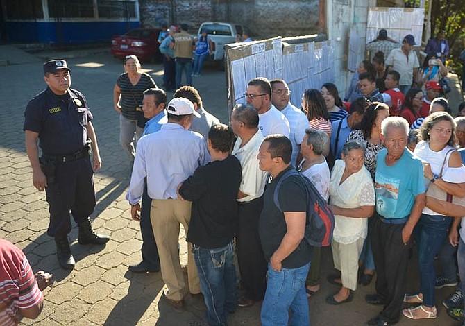 Tribunal Electoral de El Salvador confía en plan de seguridad