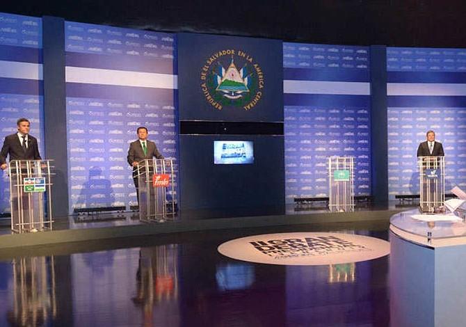 Relación con EE.UU. enfrenta a candidatos en debate de ASDER en El Salvador