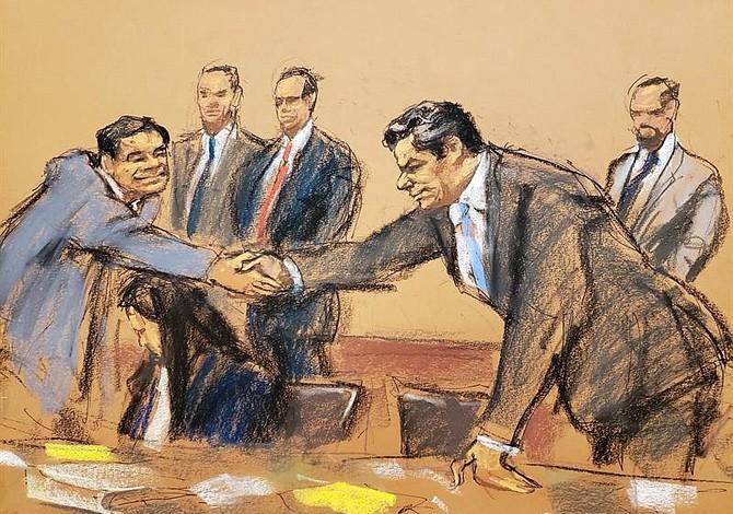 Sin veredicto, el jurado del juicio del Chapo concluye quinto día de deliberaciones
