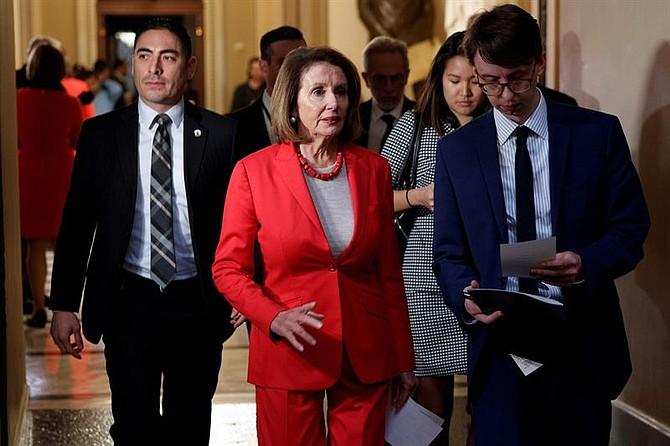 POLÍTICA. Nancy Pelosi sugiere posponer discurso sobre el Estado de la Unión de presidente Trump