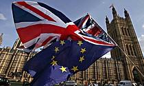"""POSICIÓN. Leadsom hizo el anuncio después de que los parlamentarios rechazasen el pasado martes el pacto del """"brexit"""" que la jefa del Gobierno negoció con la Unión Europea (UE)."""