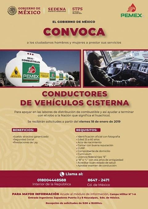 MÉXICO. Invitación a todos los conductores del país