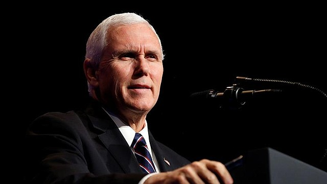 POLÍTICA. Vicepresidente estadounidense, Mike Pence