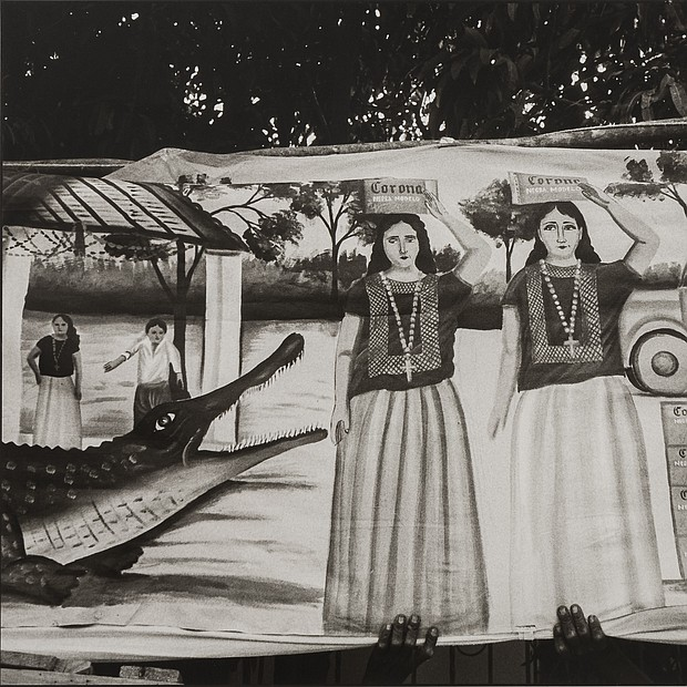 Alligator Festival / Festival del Lagarto, 1985 Graciela Iturbide (Mexican, born in 1942) Photograph, gelatin silver print *Museum purchase with funds donated by John and Cynthia Reed, Charles H. Bayley Picture and Painting Fund, Barbara M. Marshall Fund, Lucy Dalbiac Luard Fund, Horace W. Goldsmith Foundation Fund for Photography, Francis Welch Fund, and Jane M. Rabb Fund for Film and Photography *© Graciela Iturbide *Courtesy, Museum of Fine Arts, Boston