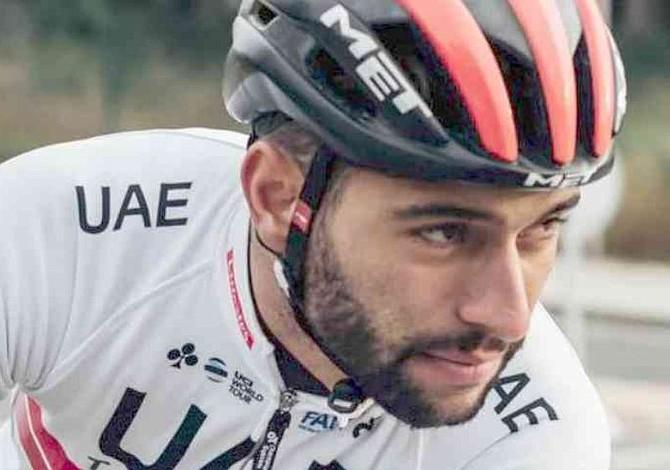 Fernando Gaviria terminó líder de la Vuelta a San Juan