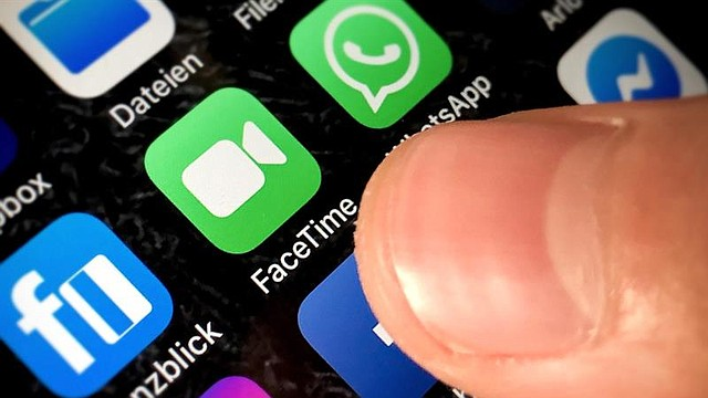 TECNOLOGÍA Fotografía en la que aparece el icono de la aplicación FaceTime, este martes en Kaarst