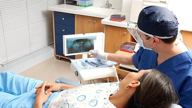 SALUD. Foto de referencia de una consulta de odontología