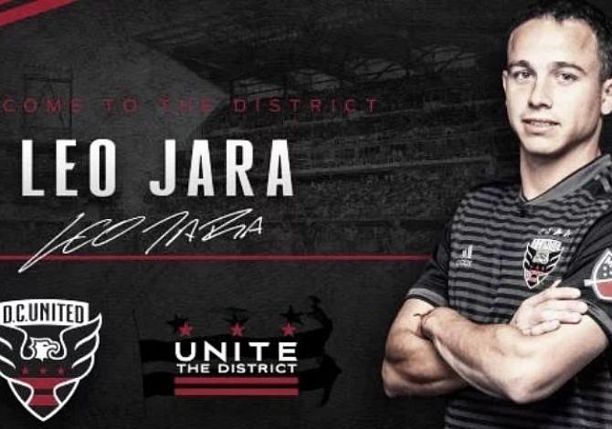 DC United suma al lateral argentino Leonardo Jara