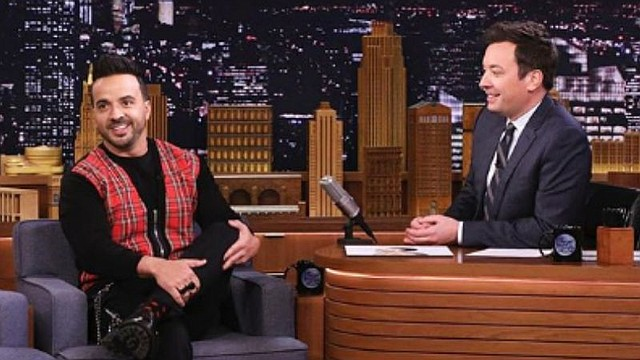 "SHOW. Luis Fonsi puso a bailar a toda la audiencia del programa estadounidense ""The Tonight Show Starring Jimmy Fallon"""