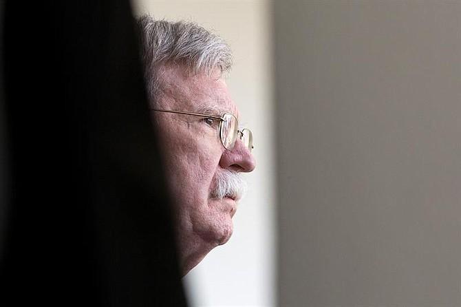 WASHINGTON. John Bolton, consejero de Seguridad Nacional de la Casa Blanca