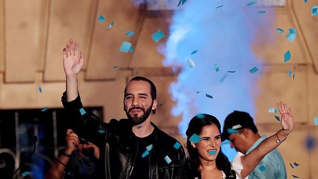 EL SALVADOR. Nayib Bukele se proclamó ganador de las elecciones presidenciales en El Salvador la noche del 3 de febrero de 2019