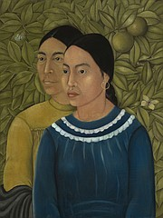 Dos Mujeres (Salvadora y Herminia). Frida Kahlo (Mexican, 1907–1954). 1928. Oil on canvas