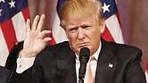 RELAJADO. La filtración de los horarios presidenciales abarca la agenda diaria de Trump de los últimos tres meses. Pasa más tiempo viendo televisión y usando el Twitter que en actividades oficiales.