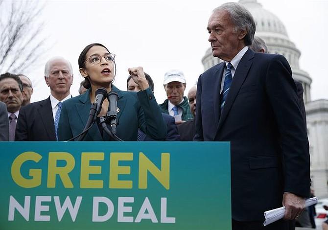 """Demócratas buscarán combatir el cambio climático con el plan """"Green New Deal"""""""