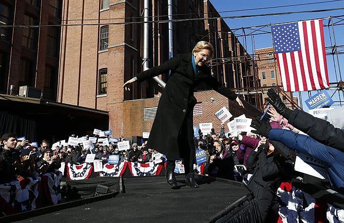 La senadora demócrata Elizabeth Warren inicia precandidatura presidencial