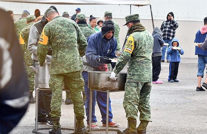 MIGRACIÓN. Algunos de ellos llegaron a Piedras Negras desde Saltillo, capital de Coahuila, mientras que otros acudieron a esta localidad fronteriza desde Monterrey (Nuevo León) o desde el nororiental estado de Tamaulipas.