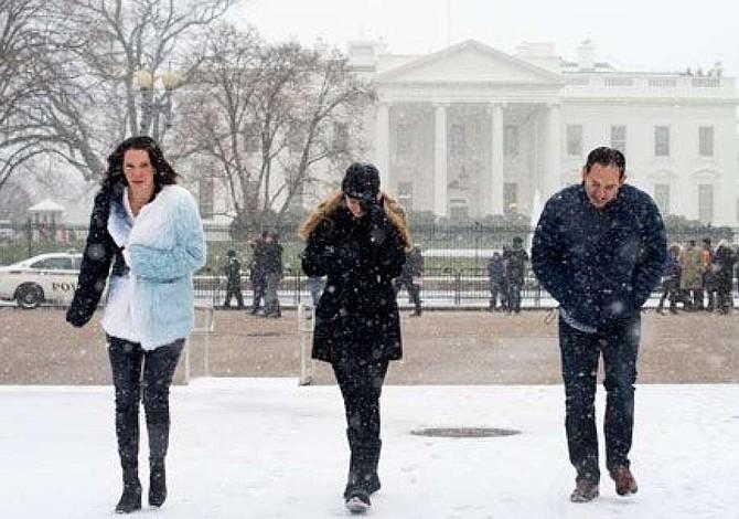 Cancelados unos 200 vuelos por tormenta invernal en Washington