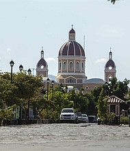 NICARAGUA. Vista el jueves 7 de febrero de 2019 de la Catedral de Granada