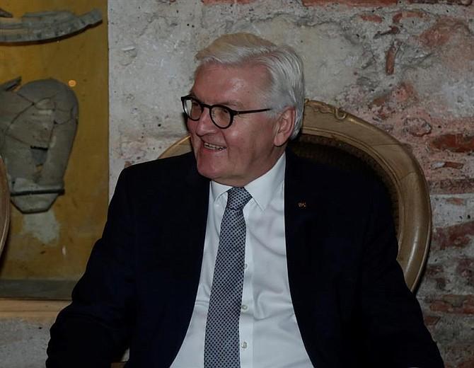 RELACIONES. El presidente de la República Federal de Alemania, Frank-Walter Steinmeier, asiste este lunes a una reunión en Cartagena (Colombia)