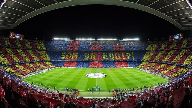 HOGAR. El Camp Nou, casa del Barcelona, acogió a Guardiola entre 2008 y 2012 como entrenador.