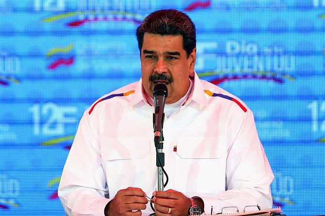 VENEZUELA. Nicolás Maduro pronuncia un discurso en apoyo de su Gobierno
