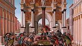 Historias de Lucrecia. Sandro Botticelli