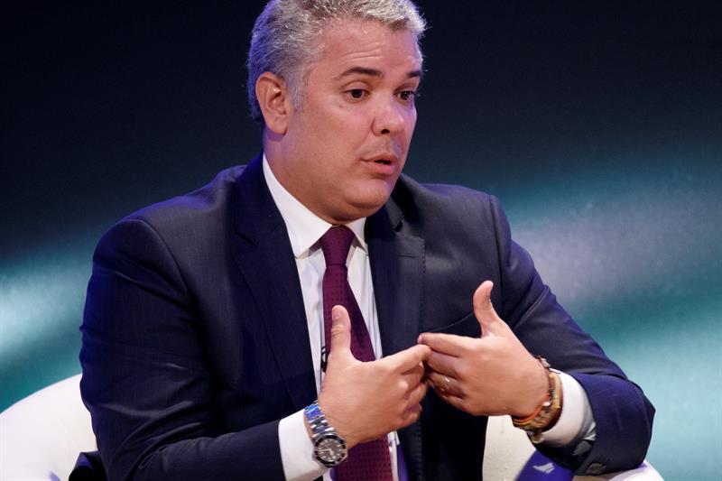 POLÍTICA. El presidente de Colombia, Iván Duque