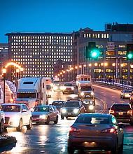 Tráfico en Boston.