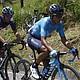 CICLISMO. Los ciclistas colombianos Nairo Quintana (d), del equipo Movistar, y Egan Bernal (i), del Sky, participan en la quinta etapa del Tour Colombia, este sábado en La Unión, Antioquia