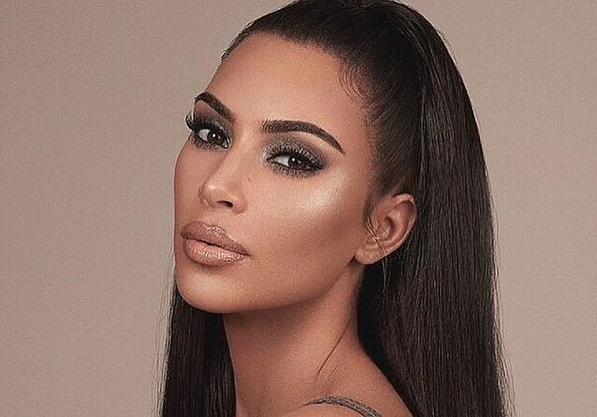 SHOW. Foto de archivo de la modelo y estrella de televisión Kim Kardashian