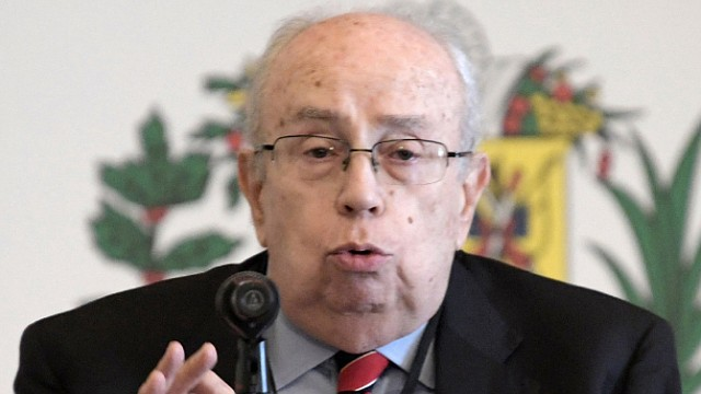 CONFERENCIA. Tarre habla durante el inicio de la Conferencia Mundial sobre Ayuda Humanitaria en Venezuela, en la sede de la OEA, Washington DC.
