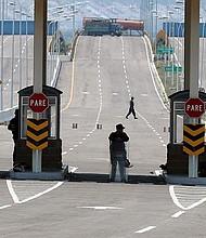 FRONTERA. Puente Las Tienditas que comunica Venezuela con Colombia