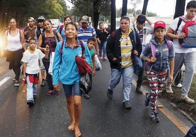 Honduras registra aumento en la detención de indocumentados