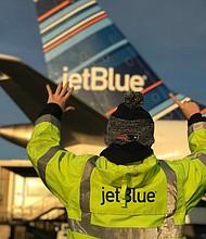 TRANSPORTE. Foto de archivo obtenida de JetBlue Airways