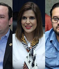 EL SALVADOR. Los diputados Arturo Magaña, Milena Mayorga, Gustavo Escalante y Felissa Cristales fueron convocados por la Comisión Política de ARENA